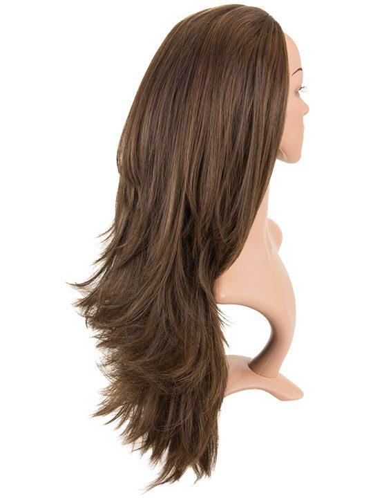 Angelina Long Reversible Wig Straight   Flick In Warm Brunette ... 0b95bd59d