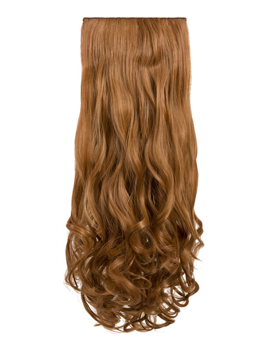 Angella 8 Weft Curly Hair Extensions In Mixed Auburn Koko Couture