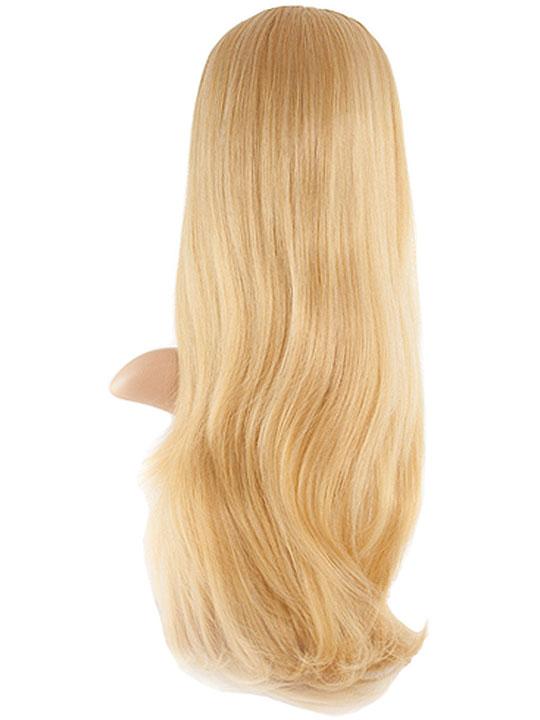 Natural Wave Half-Head Wig In Golden Blonde