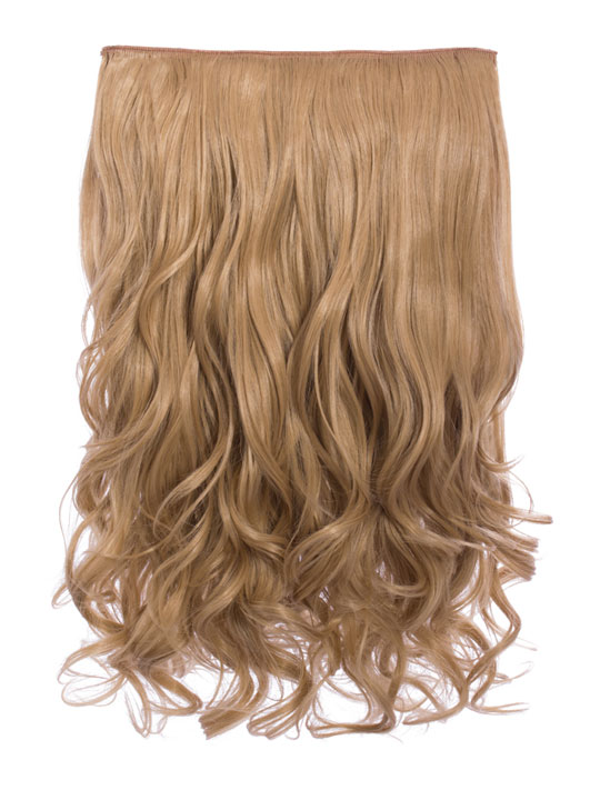 Selena 1 piece weft curly hair extensions in ash blonde koko selena 1 weft curly 20 hair extensions in ash blonde pmusecretfo Choice Image