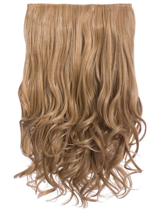 Selena 1 piece weft curly hair extensions in honey blonde koko selena 1 weft curly 20 hair extensions in honey blonde pmusecretfo Choice Image