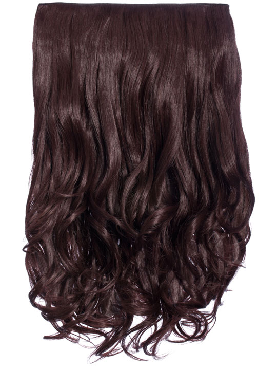 Selena 1 piece weft curly hair extensions in plum koko latest selena 1 weft curly 20 hair extensions in plum pmusecretfo Images
