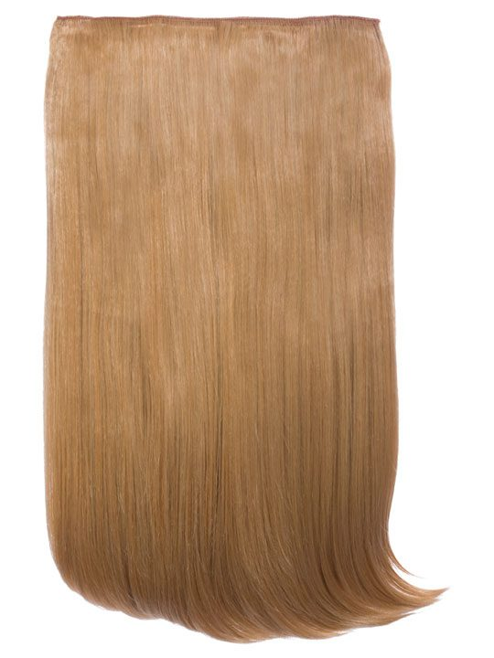 Lorna 1 Piece Straight Hair Extensions In Caramel Koko Latest