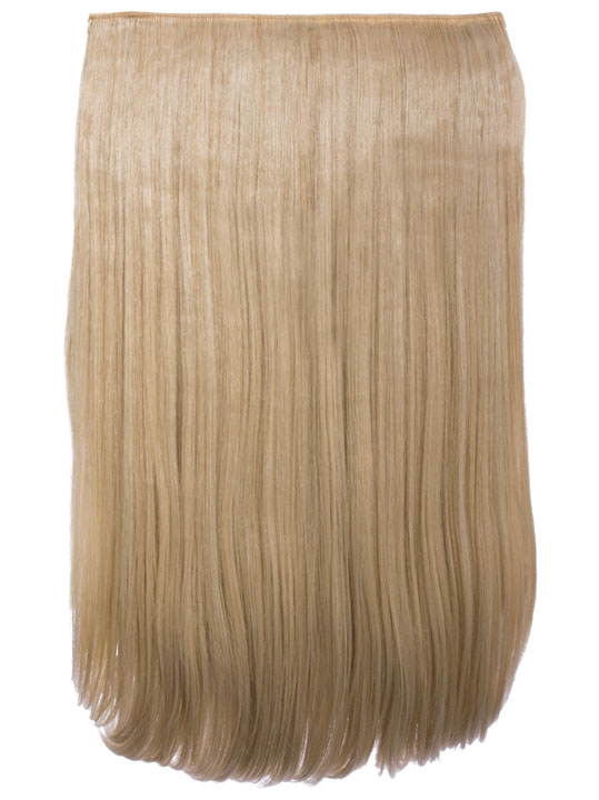 Lorna 1 Piece Straight Hair Extensions In Light Golden Brown