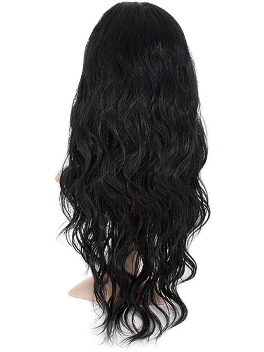 Grace Beach Wave Half Head Wig In Jet Black Koko Couture