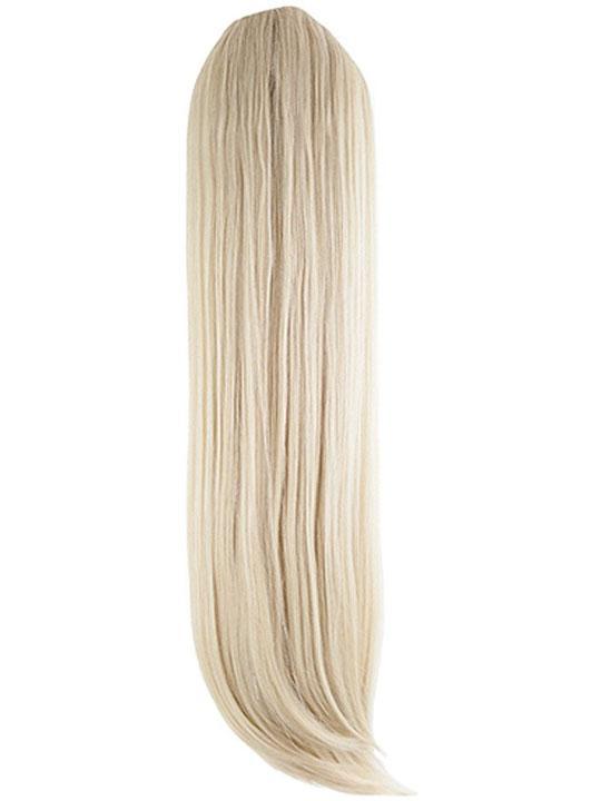 Christine Straight Ponytail In Light Golden Blonde Koko Couture