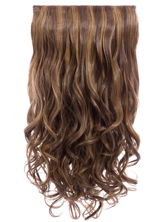 Lena 3 Weft Curly 22 Hair Extensions In Blondette Koko Couture