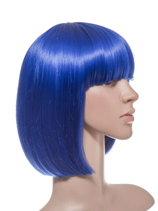 Atlantic Blue Bob Party Wig