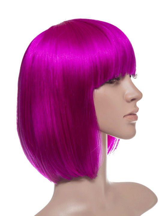 Cerise Bob Party Wig