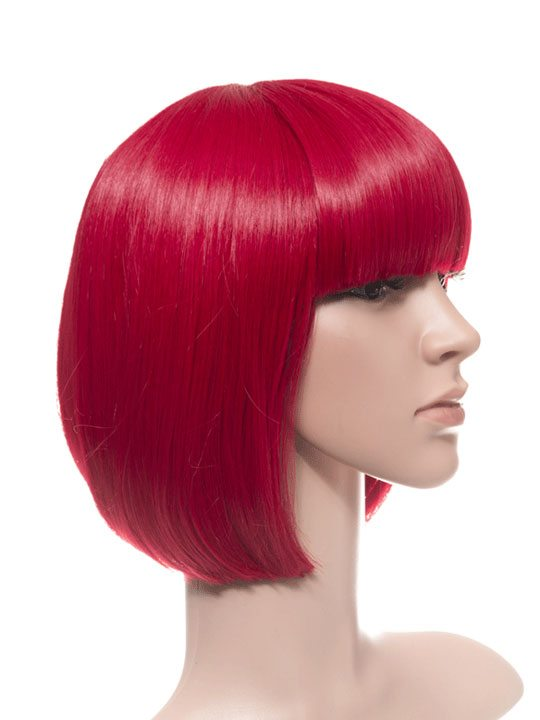 Poppy Red Bob Party Wig
