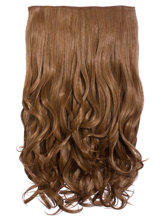 Selena 1 Weft Curly 20″ Hair Extensions In Mixed Auburn a6ff066998ff