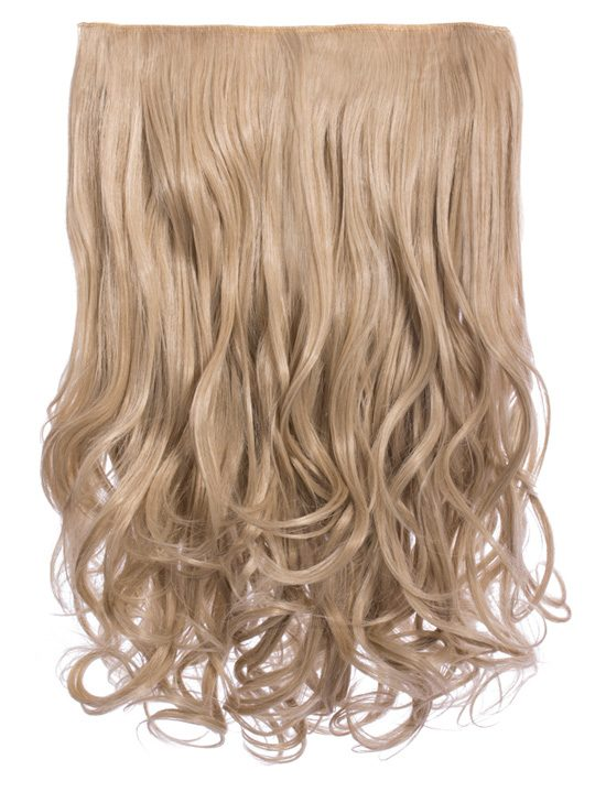 Selena 1 piece weft curly hair extensions in golden brown koko selena 1 weft curly 20 hair extensions in california blonde pmusecretfo Choice Image
