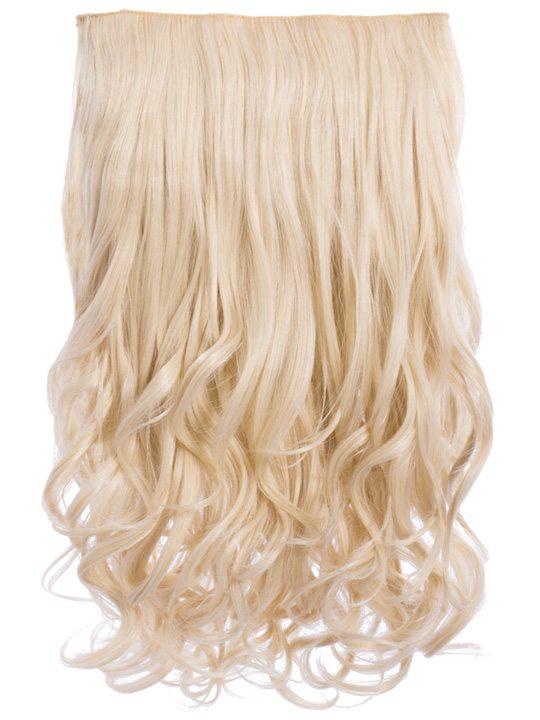 Selena 1 Piece Weft Curly Hair Extensions In Golden Brown Koko