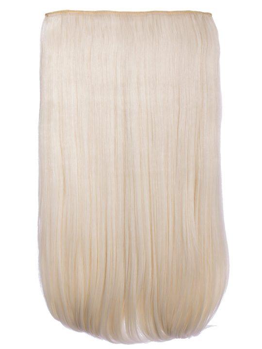 Lorna 1 Weft Straight 24 Hair Extensions In Bleach Blonde Koko
