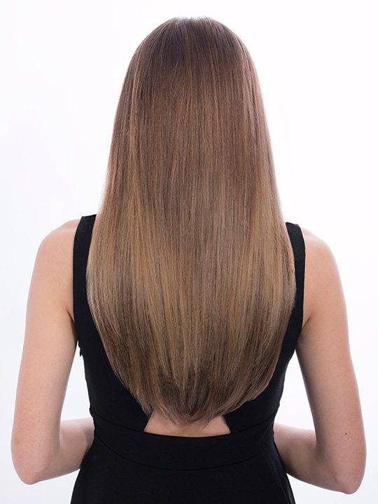 Dolce 1 Weft 18 Straight Hair Extensions In Light Golden Blonde
