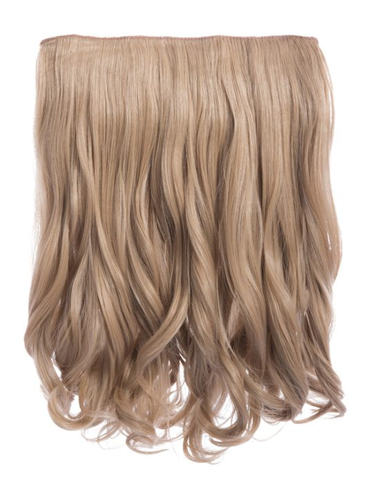 Rosie 1 Weft 16 Curly Hair Extensions In Ash Blonde Koko Couture