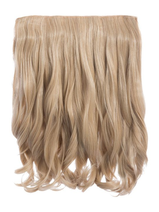 Rosie 1 Weft 16 Curly Hair Extensions In Golden Blonde Koko Couture