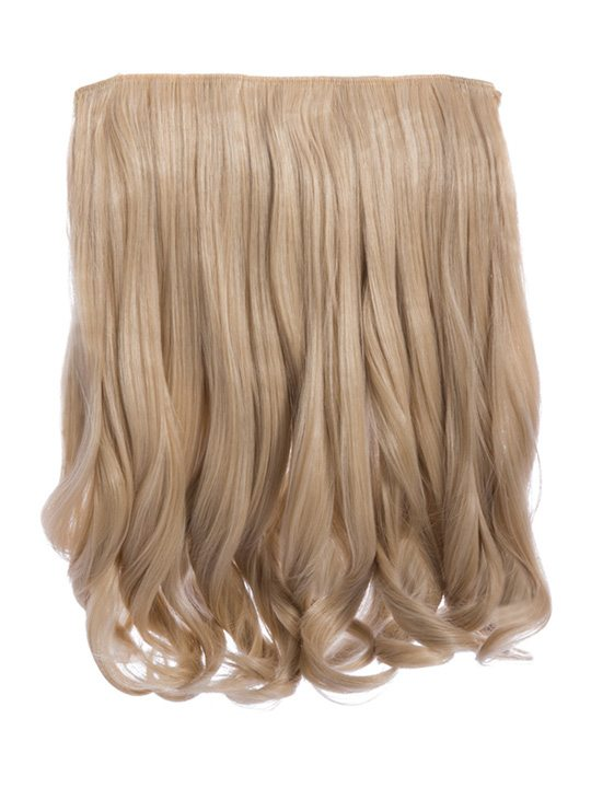 Rosie 1 Weft 16 Curly Hair Extensions In Champagne Blonde Koko