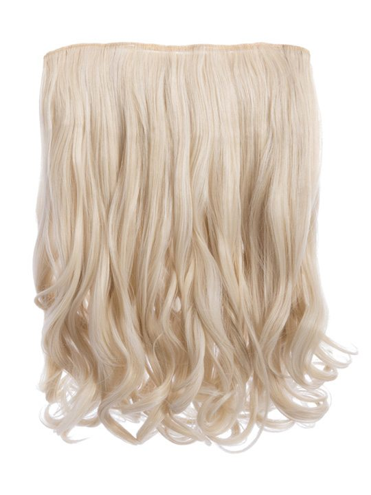 Rosie 1 Weft 16 Curly Hair Extensions In Light Blonde Koko Couture