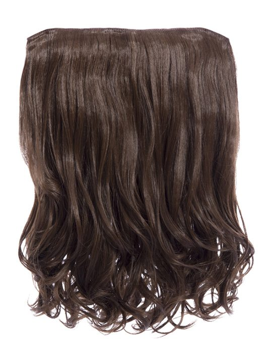Rosie 1 Weft 16 Curly Hair Extensions In Chestnut Brown Koko Couture