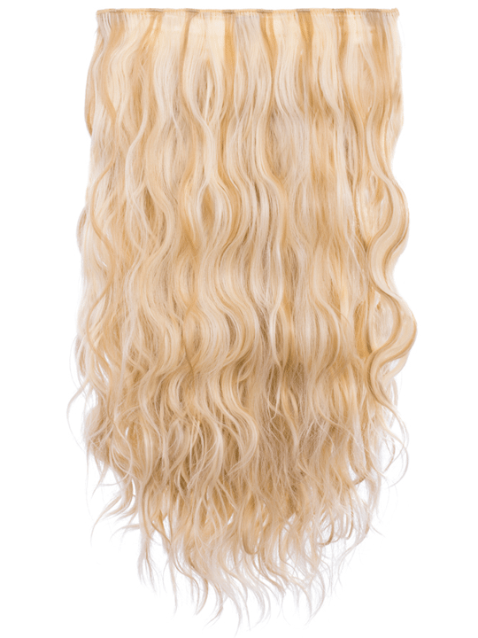 Kylie 3 weft beach wave 20 hair extensions in light champagne kylie 3 weft beach wave 20 hair extensions in light champagne blonde pmusecretfo Images