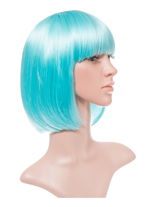 Lagoon Blue Bob Party Wig