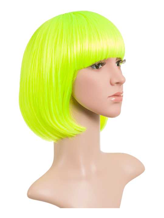Fluorescent Bob Party Wig - Fu...