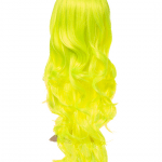 Fluorescent Long Curly Party Wig