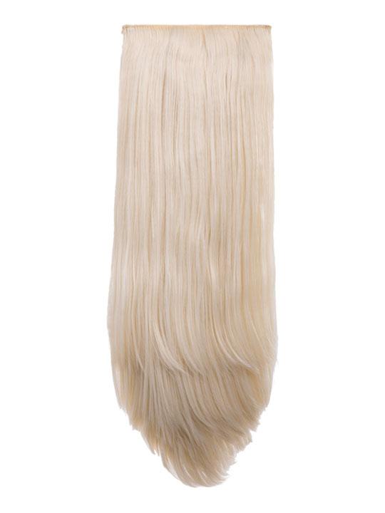 Abigail 8 Piece Straight Full Head Extensions In Bleach Blonde