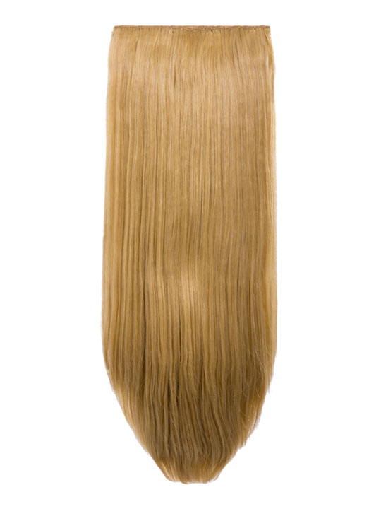 Abigail 8 Piece Straight Full Head Extensions In Golden Blonde