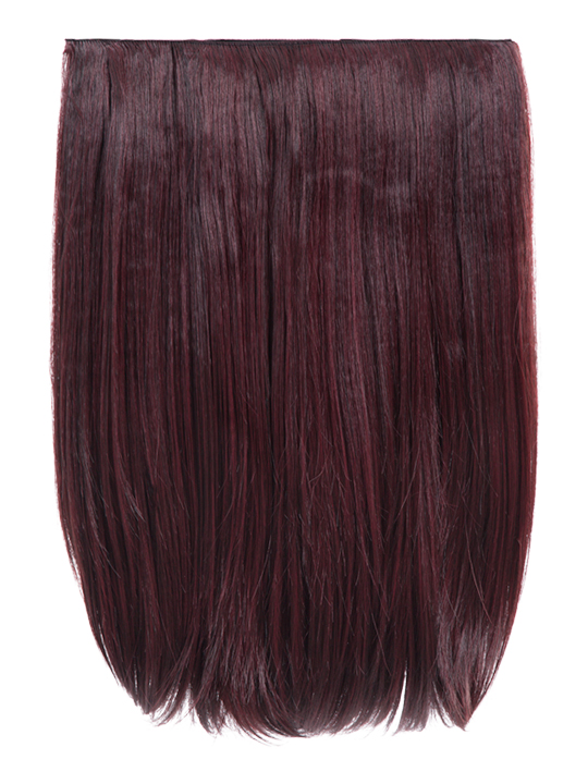 Dolce 1 Weft 18 Straight Hair Extensions In Black And Burgundy