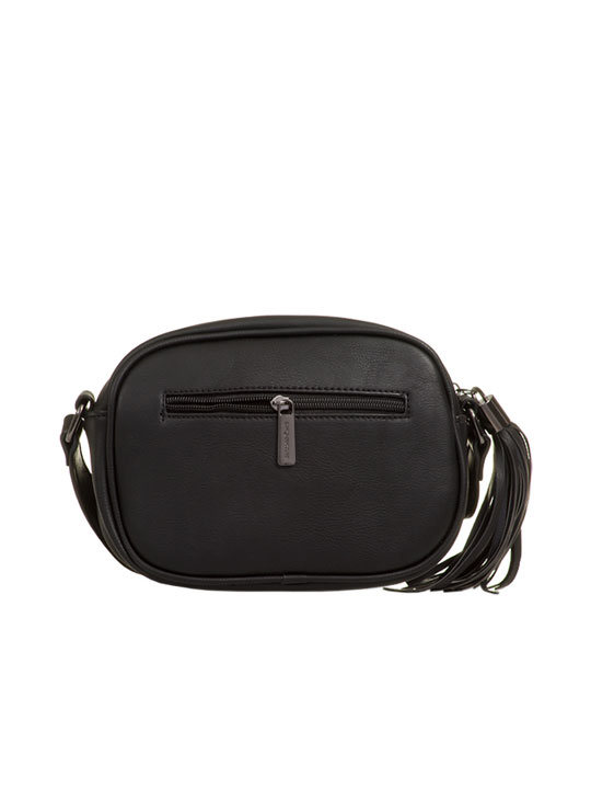 c9431f3560d1 Carlie Faux Leather Cross Body Bag in Black - KOKO COUTURE