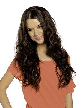 Grace Long Wave Curly Half-Head Wig