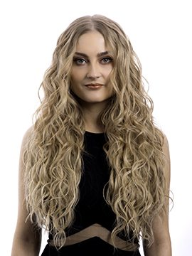 Kylie 3 Weft Beach Wave Hair Extensions