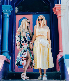 Bloggers Olivia and Alice style their Summer looks with KOKO Couture