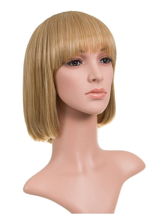 Honey Blonde Classic Bob Full Head Wig