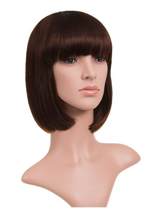 Plum Classic Bob Full Head Wig