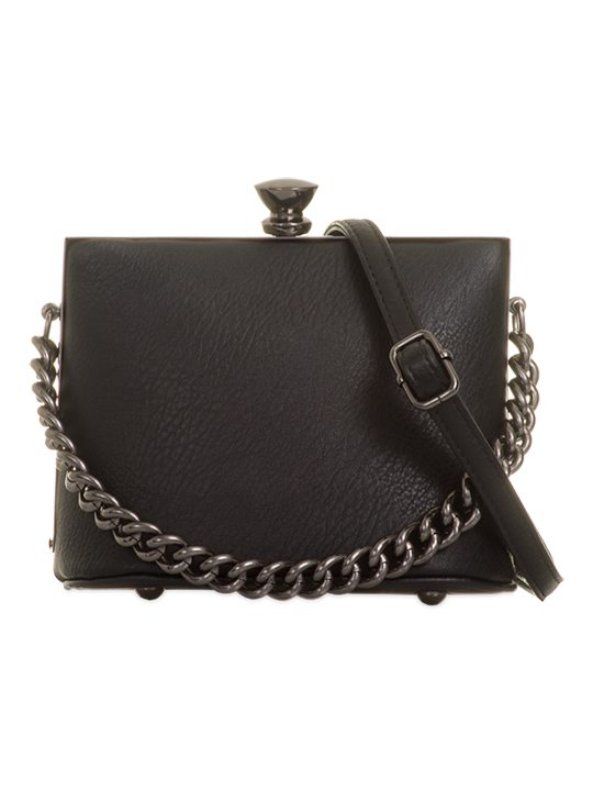 Image of Black Retro Handbag
