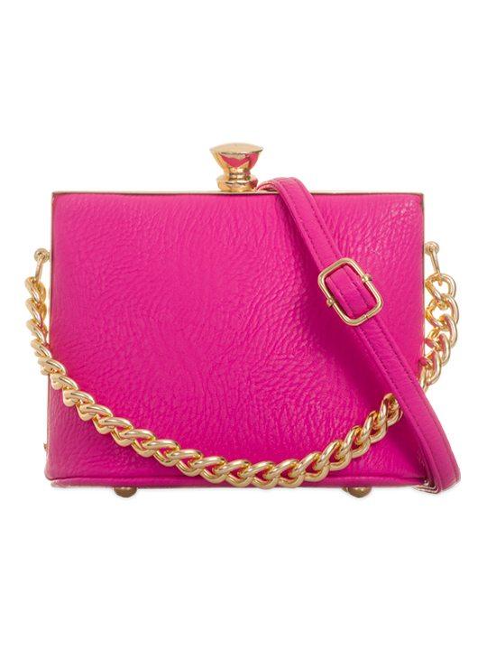 Image of the Hot Pink Retro Handbag