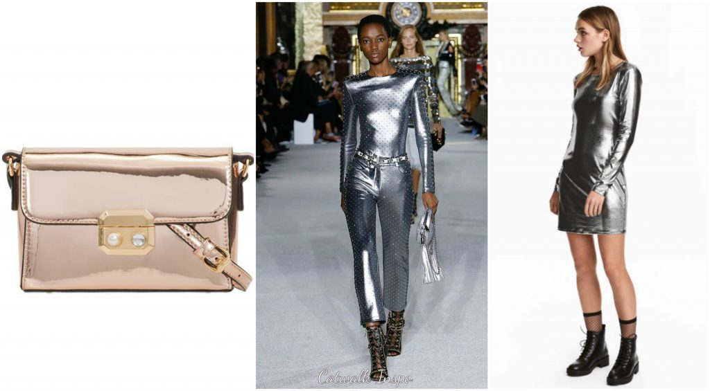 2018 Spring Trends - Metallic Power