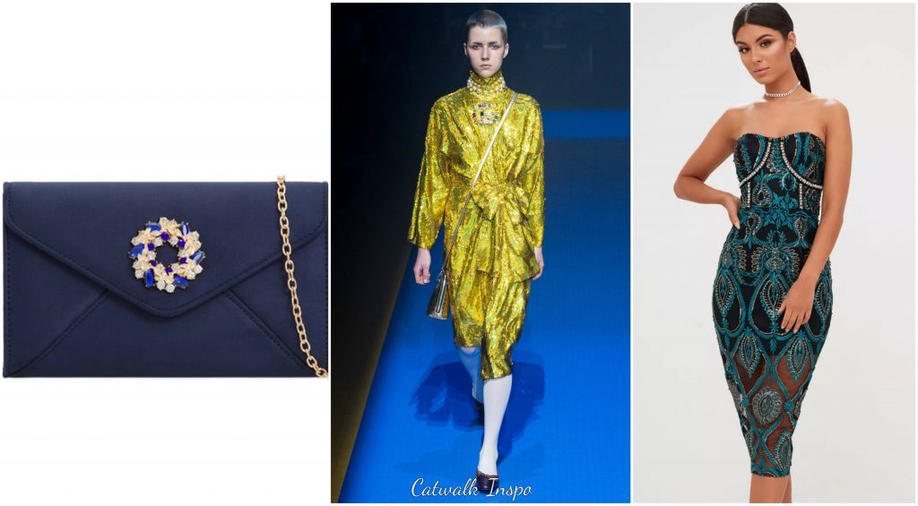 2018 Spring Trends - Royal Embellishment