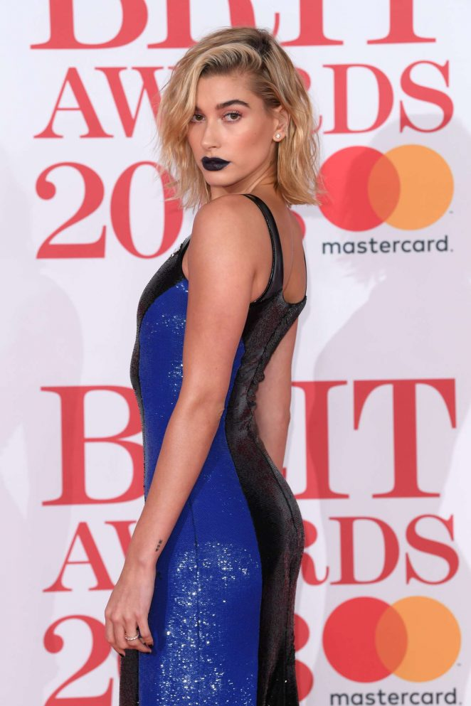 Brit awards 2018 best dressed - Hailey Baldwin