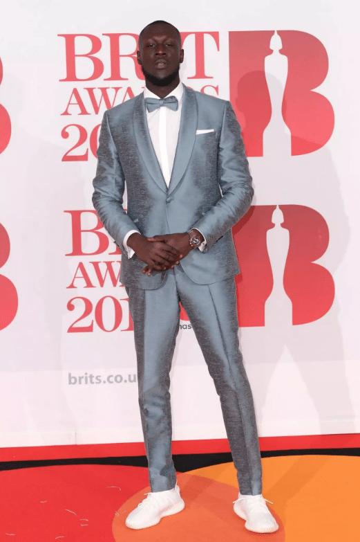Brit awards best dressed - Stormzy