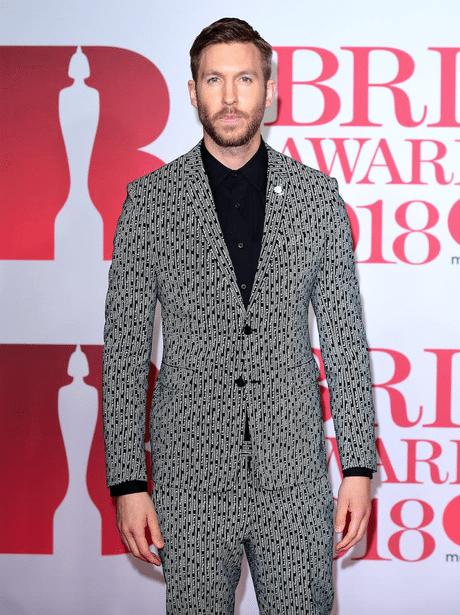 Brit awards 2018 best dressed - Calvin Harris