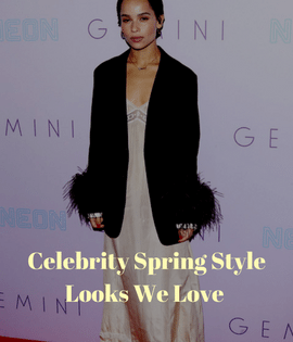celebrity spring style