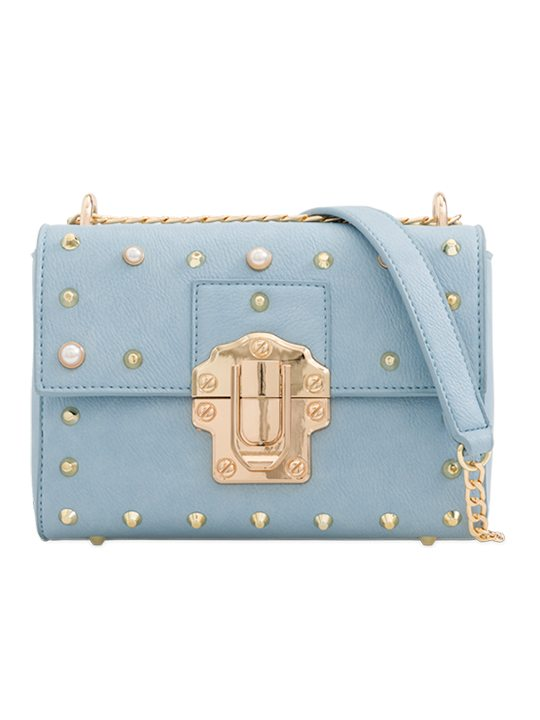 Serenity Studded Shoulder Bag