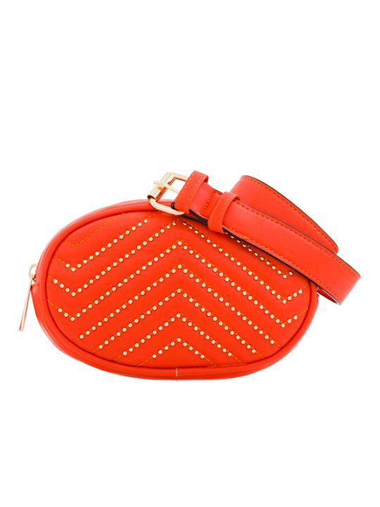 Scarlet Studded Bum Bag