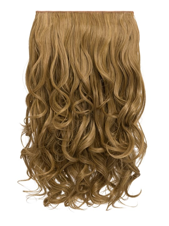 Selena 1 Weft Curly 20 Hair Extensions In Dark Blonde Koko Couture