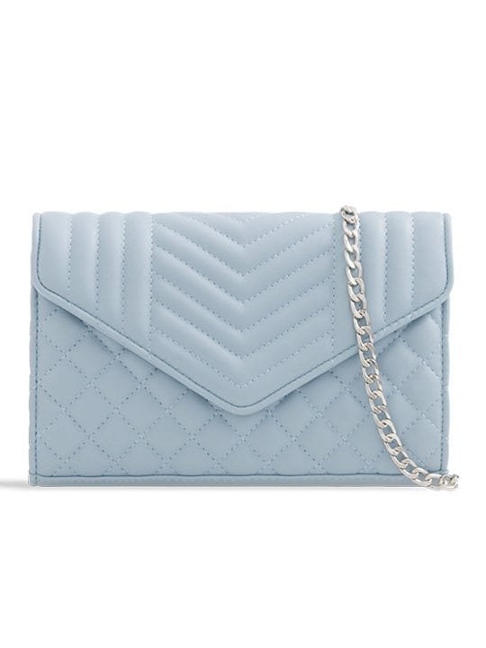Serenity Quilted Soft Faux Leather Clutch Bag