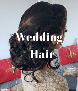 Wedding Hairstyles Using Synthetic Hair Extensions